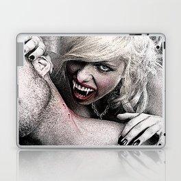 Scary Female Vampire Feeds On A Male Victim Laptop & iPad Skin