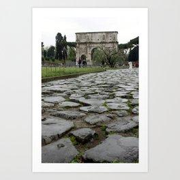 Arco di Constantine Art Print