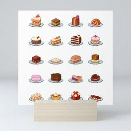 Pixel Cakes Mini Art Print