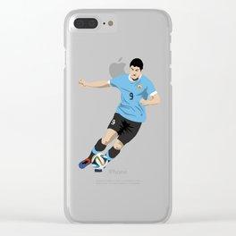 Luis Suarez Clear iPhone Case