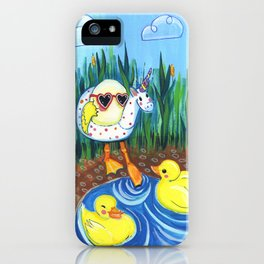First swim iPhone Case