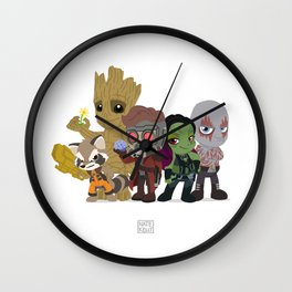 Guarding the Galaxy Wall Clock
