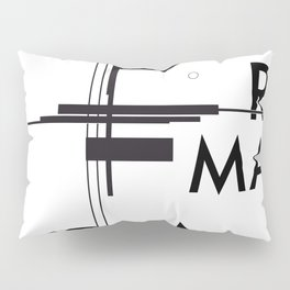 History of Art in Black and White. Suprematism Pillow Sham