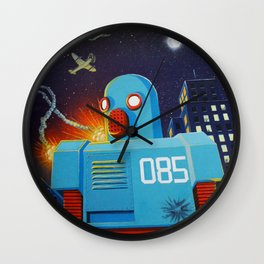 Malfunction 85 Wall Clock
