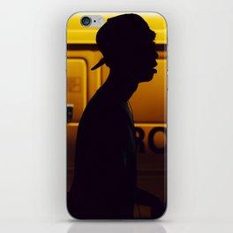 Yellow van Australian man iPhone Skin