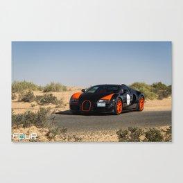 WRC Vitesse Canvas Print