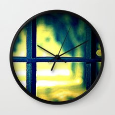 Life on the other side Wall Clock