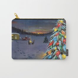 Christmas Campers Carry-All Pouch