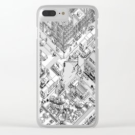 MacPaint project: NYC Clear iPhone Case