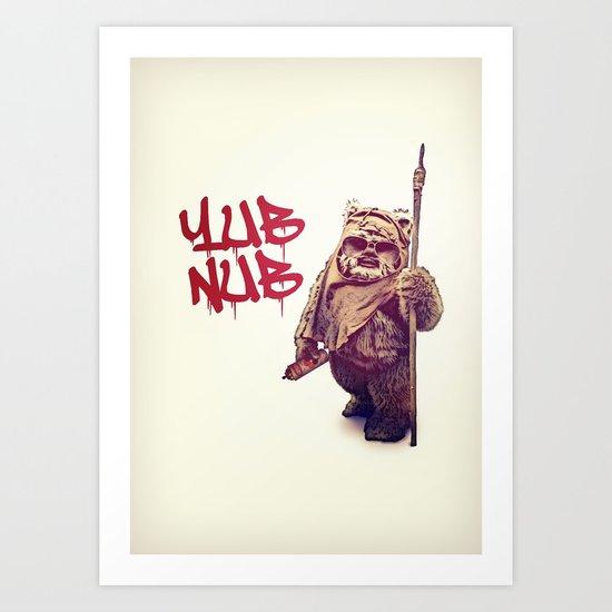 Yub Nub Art Print