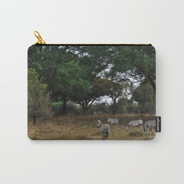 Zebras. Carry-All Pouch