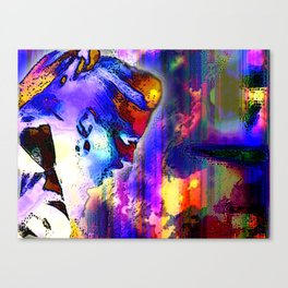 Screaming Silently Canvas Print