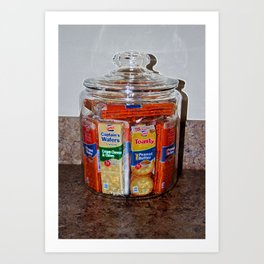 Grandma's Cracker Jar Art Print