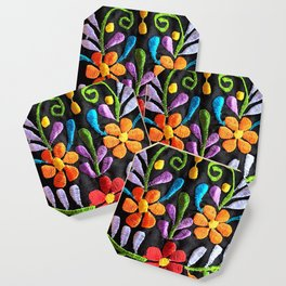 Mexican Flowers Coaster