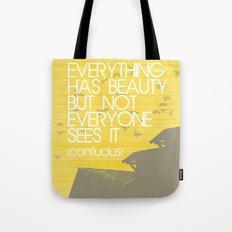 Confucius Quote Tote Bag