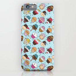 Cupcake Parade iPhone Case