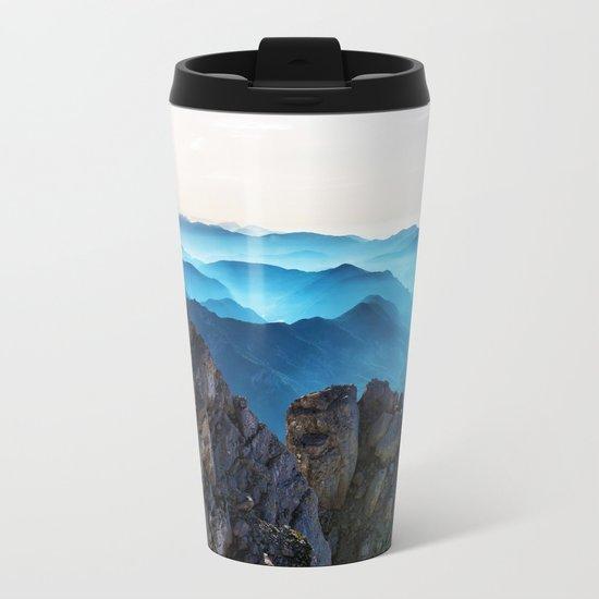 Mountains Breathe Too Metal Travel Mug