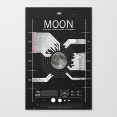 OMG SPACE: Moon 1970 - 2025 Canvas Print