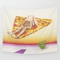Pizza 69 Wall Tapestry