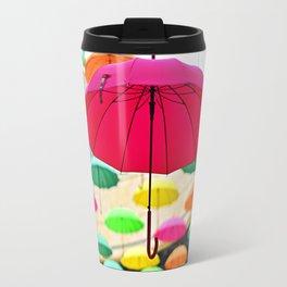 Umbrella Series - Pink Travel Mug