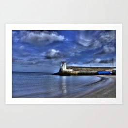 Balbriggan Lighthouse Art Print
