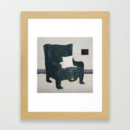 Polar Chair II Framed Art Print