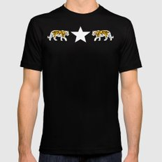 Hear Me Roar | Animal Mens Fitted Tee Black MEDIUM