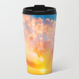 Sunset feather Travel Mug