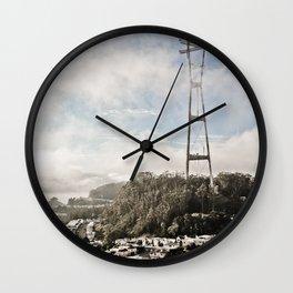 The Peaks Wall Clock
