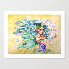 Bubble Fairy Canvas Print