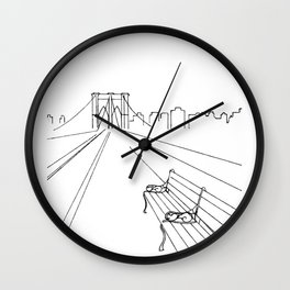 Take Our Time Wall Clock
