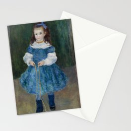 Girl with a Jump Rope (Portrait of Delphine Legrand) Stationery Cards