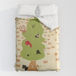 Be Good to Trees Duvet Cover