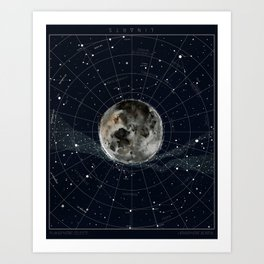 Pathfinder Night Art Print