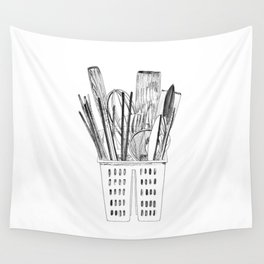 Kitchenware Wall Tapestry