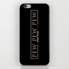 A pew pew story iPhone & iPod Skin