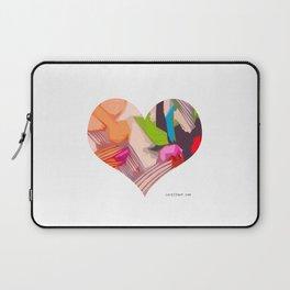 Deco Heart Laptop Sleeve
