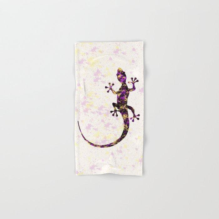Abstract Lizard Hand & Bath Towel