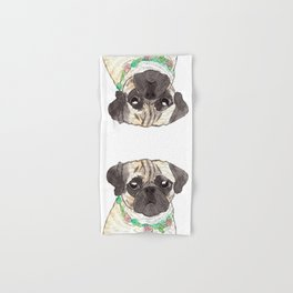 Pug Hand & Bath Towel