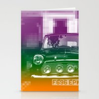 mini Stationery Cards featuring Mini by Matt Wade