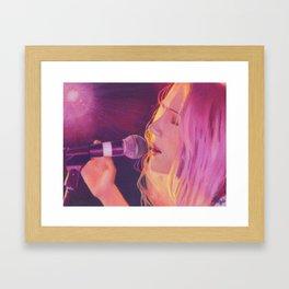 Sucre (Stacy King) Portrait Framed Art Print