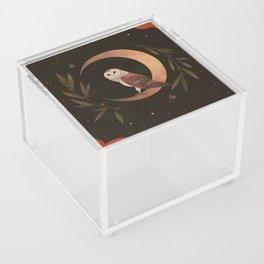 Barn Owl Magic Acrylic Box