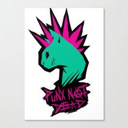 PUNX NOT DEAD Canvas Print