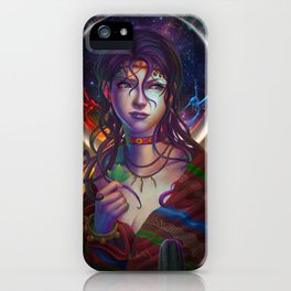 Moon Woman iPhone Case