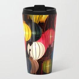 Colourful Lanterns of Hoi An, Vietnam Travel Mug