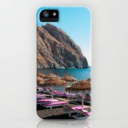 Perissa Paradise iPhone Case