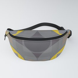 Charybdis - Colorful Decorative Abstract Art Pattern Fanny Pack