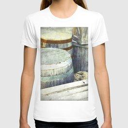 Wooden Barrels and Crates T-shirt