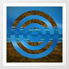 Cirkelstrand Art Print