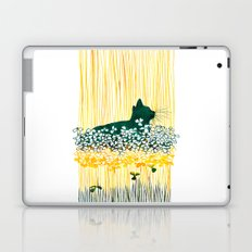 Clover Cat Laptop & iPad Skin